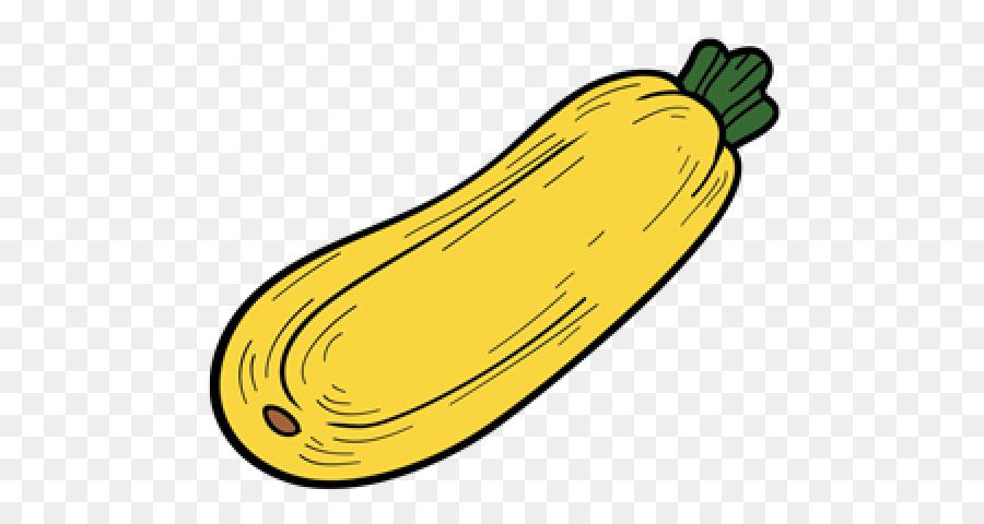 Summer plant . Zucchini clipart banana