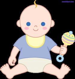 Baby Boy 1 Clipart - Sweet Clip Art