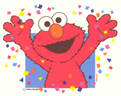 Elmo Party Clipart