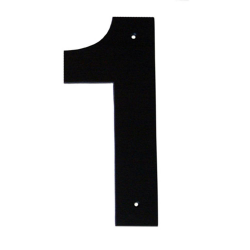 Montague Metal Products 4 in. Standard House Number 1-CSHN-1-4 - The ...