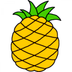 Fruit free pineapple clipart 1 page of public domain clip ...