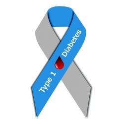 Diabetes Awareness Ribbon Clip Art Library Ribbon For Diabetes ...
