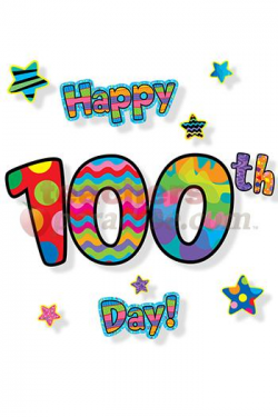 100th Day Of School Day Clipart