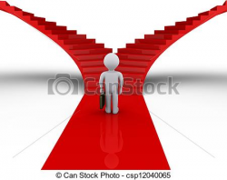 Pathway clipart two road - Pencil and in color pathway clipart two road