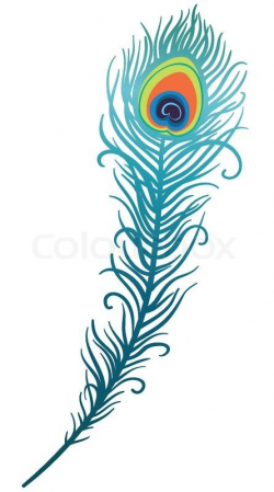 Peacock Feather Drawing Clipart | Cricket | Pinterest | Feather ...