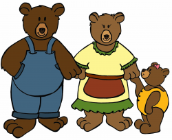Free Three Bears, Download Free Clip Art, Free Clip Art on Clipart ...