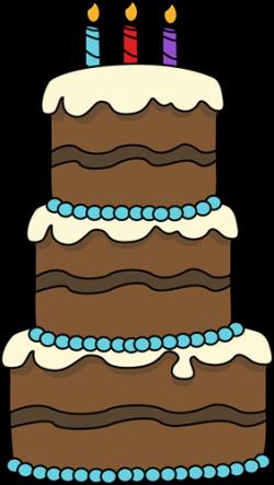 Birthday Cake Drawing | Big Birthday Cake Clip Art Image - big 3 ...