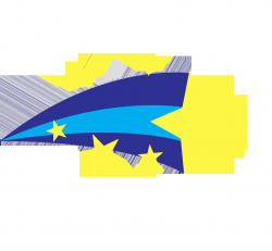 Fresh Shooting Star Clipart Design - Digital Clipart Collection