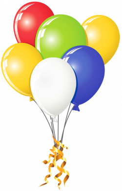 Transparent Balloons Multi Color Clipart   Gallery Yopriceville ...