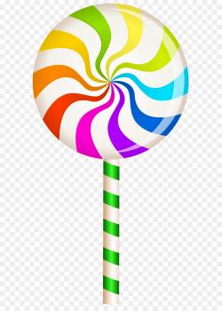 Lollipop Candy Confectionery Clip art - Multicolor Swirl Lollipop ...