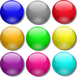 Game Marbles Clip Art at Clker.com - vector clip art online, royalty ...