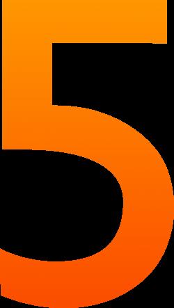 Number 5 Clip Art - Sweet Clip Art