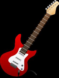 42 guitar clip art. | Kaleb | Pinterest | Red electric guitar, Clip ...