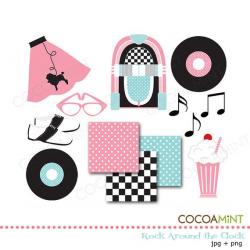 sock hop clip art | Party 50's Theme | Pinterest | Clip art, Socks ...