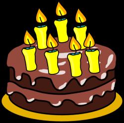 7th Birthday Cake Clip Art at Clker.com - vector clip art online ...