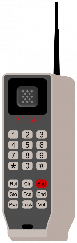 Clipart - Brick Phone