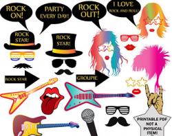 80s rock band   Etsy