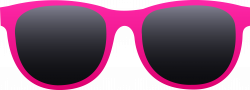 Free clip art of a pair of hot pink sunglasses...can use for ...