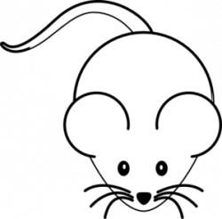 Black And White Mouse Clip Art at Clker.com - vector clip art online ...