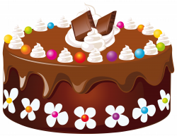 Chocolate Cake PNG Clipart Image | Gallery Yopriceville - High ...