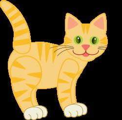 Clip art version2 yellow tiger cat | 15.10.8 | Pinterest | Clip art ...