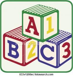 ABC 123 Blocks Clipart - Clip Art Bay