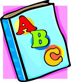 Alphabet Book Clip Art - Kind Of Letters