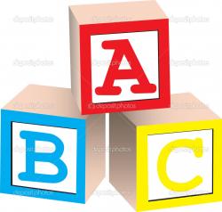 Abc Building Blocks Clipart