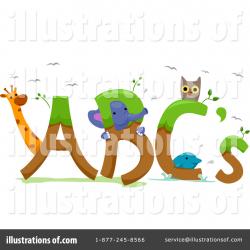 Abc Clipart #1110193 - Illustration by BNP Design Studio