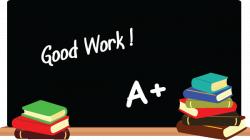 Clipart chalkboard image 3 - Clipartix