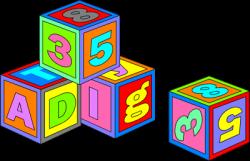 Image of Abc Blocks Clipart #2489, Blocks Free - Clipartoons