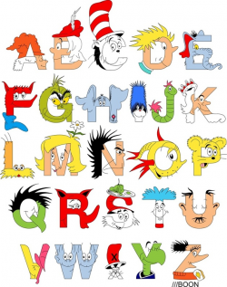 Dr. Seuss Alphabet by Mike Boon |