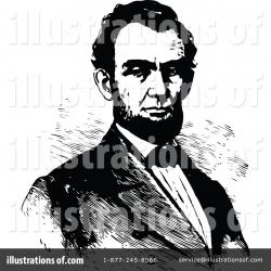 Abraham Lincoln Clipart #1113262 - Illustration by Prawny Vintage