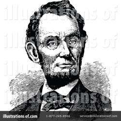Abraham Lincoln Clipart #1115134 - Illustration by Prawny Vintage