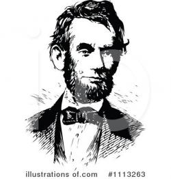 Abraham Lincoln Clipart #1113263 - Illustration by Prawny Vintage