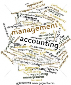 Drawing - Management accounting. Clipart Drawing gg63089213 - GoGraph