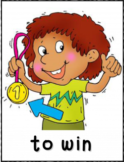 Action Verb Clipart. Please Of Action Clipart. English Word Unit 10 ...