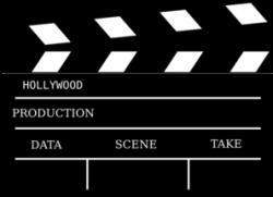 Cinema Action Prop Clip Art at Clker.com - vector clip art online ...