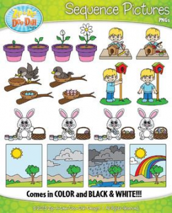 Spring Sequence Action Pictures Clipart {Zip-A-Dee-Doo-Dah Designs ...