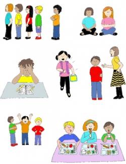 Kids in Action: Social Skills and Pragmatic Language Visuals 2 Clip ...