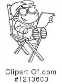 Actor Clipart #433255 - Illustration by toonaday