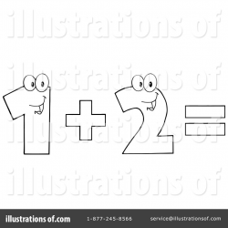 Addition Clipart #1116196 - Illustration by Hit Toon