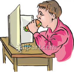 Boy Eating a Sandwich | Clipart Panda - Free Clipart Images