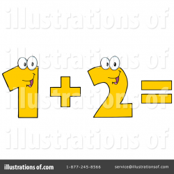 Addition Clipart #1116197 - Illustration by Hit Toon