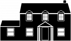 Black And White House Icons PNG - Free PNG and Icons Downloads