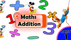 Addition For Kids | Adding Numbers for Children | Maths for Kids ...