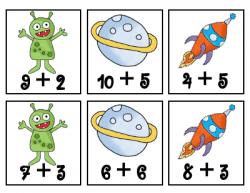 Tales of a Teacherista: Alien Math-- addition & subtraction