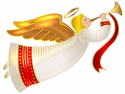 Christmas Angel Transparent PNG Clip Art Image | Angelology ...