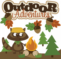 Outdoor Adventures SVG scrapbook collection svg files for ...