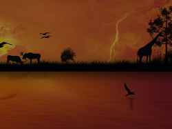 African Background Images - African Art - Clipart Backgrounds